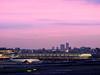 Airport at twilight time (takanorimutoh) Tags: sunset twilight tokyo airport pink japan jal colorsinourworld