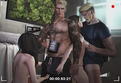 #539. Cause I hate when the moments expected (Gui Andretti (Man Cave • Noir • SenseS) Tags: stealthic hair mesh n21 catwa meshhead bento skin applyer aeros belleza jake meshbody mossu mensdept mancave menonlymonthly signature dufaux realevil identity tattoo thedarkness man men boys guys avatar urban street fashion sexy orgy party college bueno thearcade hot hunk naughty second life digitalart