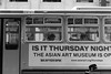 Is It Thursday Night (Jeremy Brooks) Tags: advertising bw blackwhite blackandwhite bus california marketstreet muni people sanfrancisco sanfranciscocounty transit usa camera:make=fuji camera:make=fujifilm camera:model=xpro2