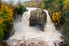 High force ... (Mike Ridley.) Tags: highforce highforcewaterfall waterfall watermotion nature autumn autumncolours nisilandscapepolariser