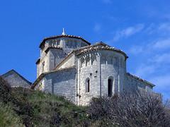 Santa Maria di Portonovo (giorgiorodano46) Tags: maggio1981 may 1981 giorgiorodano analogic chiesa church portonovo ancona marche italy