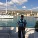 Ali on Čiovo island, Trogir in the background, Croatia, Photo by CRudin