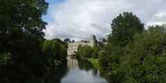 Warwick Castle, Warwick, Sep 2017 (allanmaciver) Tags: warwick castle england fortress tourist attraction major style class river avon trees shadows king william historic royal palace allanmaciver