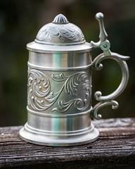 9/28 Tankard (Karol A Olson) Tags: project3652017 mdpd2017 tankard mug stein silver sep17