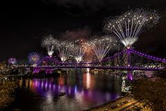 Sparklers (merbert2012 Thanks for 4 Million views) Tags: riverfire2017 sunsuperriverfire brisbane australia cityscape city longexposure nikond800 reflection travel reisen fun
