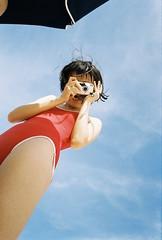 okinawa (Shu Shan Chen) Tags: 沖繩 那覇 okinawa naha sunlight japan girls girlsonfilm beach sea