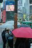 The Red Umbrella (Jason_Combs) Tags: tokyo japan film kodakportra400 日本 東京 フィルム minoltaxd 50mm people streetphotography believeinfilm 50mmrokkor minoltaxd11 filmphotography shibuya rain rainning umbrella 傘 渋谷 赤い 渋谷スクランブル交差点 shibuyacrossing