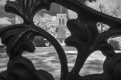 40/52 (2017): All Saint's (Sean Hartwell Photography) Tags: allsaints church borehamwood hertfordshire england iron frame infrared ir blackandwhite week402017 52weeksthe2017edition weekstartingsundayoctober12017