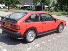 Volkswagen Scirocco GLX (Skitmeister) Tags: vw jp9611 carspot car auto pkw holland nederland niederlande netherlands skitmeister 2017