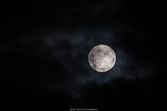Full Moon (laurilehtophotography) Tags: suomi finland jyväskylä kortepohja fullmoon nature night nightshot evening clouds drama nikon d610 nikkor 200500mm telephoto suomi100 täysikuu autumn fall cold raining syksy 2017