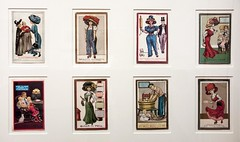 Anti Woman Suffrage Caricatures - 1917 (dnskct) Tags: albanyinstituteofartandhistory albany ny newyorkstate history october132017 wah superstition bias prejudice womenssuffragemovement antisuffrage postcards caricatures parody