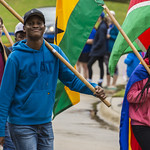 "<b>Homecoming Parade</b><br/> The international students assossiation and allies ISAA celebrated the diversity at Luther College by walking the homecoming 2017 parade. October 7 2017. Photo by Hasan Essam Muhammad<a href=""http://farm5.static.flickr.com/4464/37497571480_254baf9a5b_o.jpg"" title=""High res"">∝</a>"