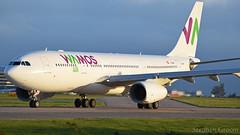 Wamos Air (Monarch Relief Flight) Airbus A330-243 EC-MNY (StephenG88) Tags: manchesterairport man egcc 23l 23r boeing airbus 3rdoctober2017 31017 10317 wamosair wamos vamos eb plm a330 a332 a330243 ecmny monarch
