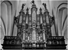 Groningen - Der Aakerk (Schnarp) Tags: groningen aakerk schnitger reil orgel orgue pipeorgan organo oargel hdr zwartwit bw blackandwhite nederland netherlands musicalinstrument muziekinstrument toetsinstrument holland paysbas niederlande europa europe
