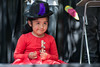 (peterhaupt) Tags: kid smile happy red dress music girl portrait retrato niña sonrisa felicidad vestido rojo folclor
