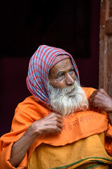 Sadhu (Maulindu Chatterjee) Tags: sadhu holy man hindu people face old saint