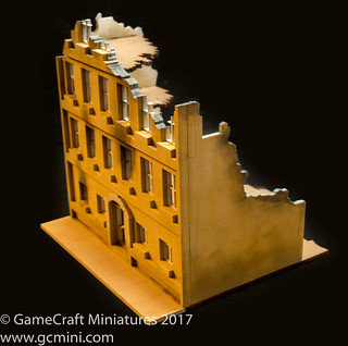 GCmini.com kit #28MMDF502 - 28mm European Ruins