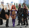 New York Comic Con 2017 - Storm, Starfire, Red Hood & Red Arrow (Rich.S.) Tags: new york comic con convention nycc 2017 nyc cosplay storm red hood starfire arrow