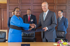 WIPO and Botswana Sign TISC Agreement (WIPO   OMPI) Tags: assemblies botswana directorgeneral francisgurry ompi wipo