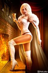 Solitude (PatLoika) Tags: emmafrost whitequeen xmen xmencosplay hellfireclub marvel marvelcomics cosplayphotography cosplay cosplayer