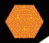 Help (De Rode Olifant) Tags: marjansmeijsters paper origami paperfolding hexagon triangle connection connection4 extendedconnection4 butterfly butterflymodule pattern
