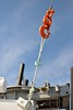 (l i v e l t r a) Tags: df 50mmf18gse f18 nikkor hook orange rope sunny sky blue metal knot tie