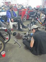 IMG_0021 (wouldpkr) Tags: cbbg dirty30 kalamazoo kmr quarterkick moped