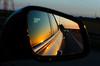 The way back (kceuppens) Tags: romantic weekend romantiek car auto evening avond zon sun warm sunset zonsondergang nikond7000 road weg lucht sky nikon d7000 35mm