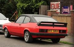 WKE 585X (2) (Nivek.Old.Gold) Tags: 1982 ford capri 16 ls mk3 thompsons dover