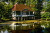 former boat house at palmse manor, estonia