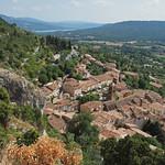 Moustiers-Sainte-Marie - Blick von der Notre-Dame de Beauvoir thumbnail
