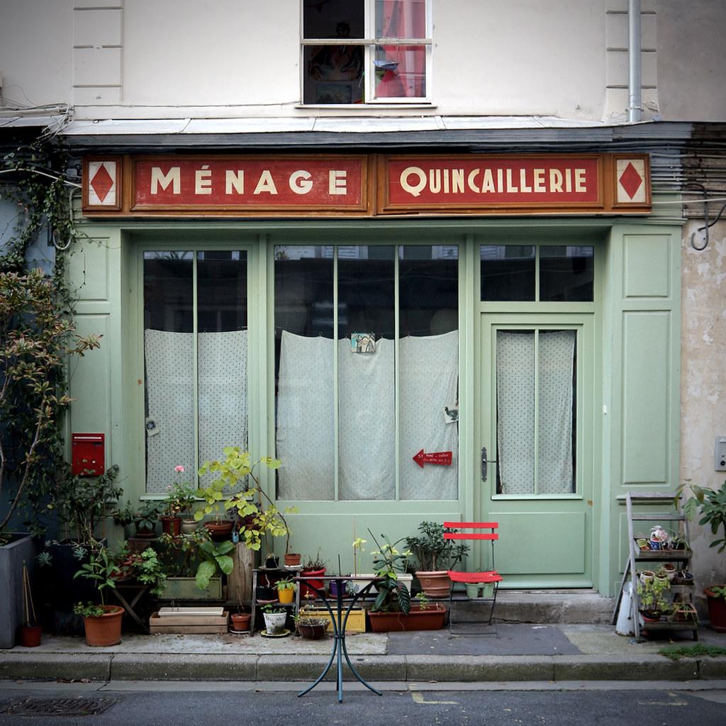 The world 39 s best photos of devanture flickr hive mind - Quincaillerie paris 16 ...