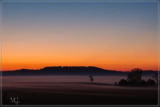 Sonnenaufgang Muckbachtal