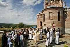 22. Первая литургия в с. Адамовка
