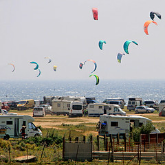Porquera, Andalusia, Spain (pom.angers) Tags: canoneos400ddigital april 2017 andalusia spain europeanunion kitesurf campers ocean sea atlanticocean 400 5000