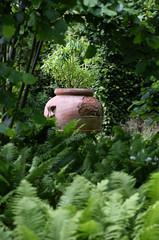 Sissinghurst Castle Gardens - Kent (Mark Wordy) Tags: sissinghurstcastlegardens nationaltrust vitasackvillewest kent urn ferns