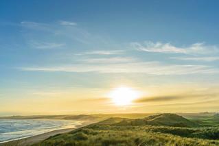 Misty Sunset @ Cruden Bay Aberdeenshire Scotland