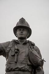 DSC_6752 (Copy) (pandjt) Tags: ottawa ontario walkabout lebretonflats sculpture publicart douglascoupland canadianfirefightersmemorial firefightersmemorial memorial