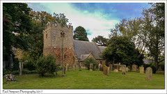 St Peter and St Paul, Longhoughton, Northumberland (Paul Simpson Photography) Tags: northumberland church religion history trees northeast stonebuilding historic stpetersandstpauls longhoughton boulmer dioceseofnewcastle england paulsimpsonphotography imagesof imageof photoof photosof september 2017 honor8 tower churchtower stpeterandstpaul grass tree graves headstone cemetery