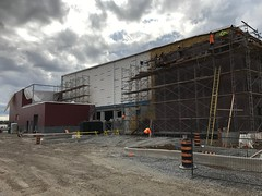 PCC Construction - Fall 2017 - Exterior of the Pelham Community Centre