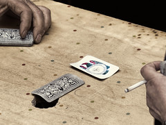 Another Game (Artypixall) Tags: sicily palermo hands playingcards table cigarette desaturated urbanscene faa getty