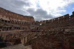 Clouds gather where crowds once swarmed  -  (Selected by GETTY IMAGES) (DESPITE STRAIGHT LINES) Tags: nikon d7200 nikond7200 nikkor1024mm nikon1024mm getty gettyimages gettyimagesesp despitestraightlinesatgettyimages paulwilliams paulwilliamsatgettyimages rome roma romeitaly colosseum thepantheon thecolosseumrome thecolosseuminrome architecture flavianamphitheatre amphitheatre colosseo italy gladiator gladiators vespasian titus emperor