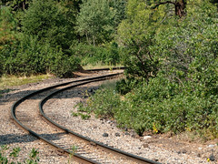 A Wye (triangle), used to turn locos R1004224 Durango & Silverton RR (Recliner) Tags: baldwin dsng drg