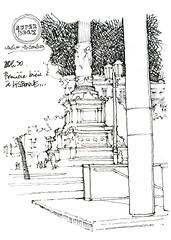 Lisbonne, Rossio (gerard michel) Tags: portugal lisbon sketch croquis