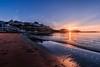 Torquay Sunrise (_John Hikins) Tags: torbay torquay seaside sea sun sky sunshine sunrise rays burst beach nikon nikkor 1020mm 1020 devon d500 landscape harbour morning