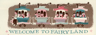 Vintage Fairyland brochure scan - WELCOME!