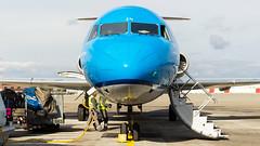 Fokker F70 PH-KZM KLM Cityhopper (William Musculus) Tags: basel mulhouse freiburg airport euroairport bsl mlh eap lfsb