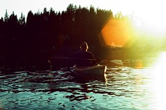 10.2017 LLWM E6-C41 Xpro, Pentax, Bowl and Pitcher E35 (Jcicely) Tags: 2017 crossprocessingxpro e6 kayaking lightflare loonlake loonlakewithmarvin marvincrippen october oldfilm pentax35mm water