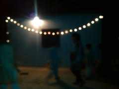 Countryside nights. (Somersaulting Giraffe) Tags: outside ngc lights barbecue fun countryside individuals object person eid village night fire celebration