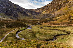 Corrie Fee in the Cairngorms (ola_er) Tags: corrie fee river water glacier glacial landscape nikon scotland scottish view valley moraine cliff mountain cairngorms nature
